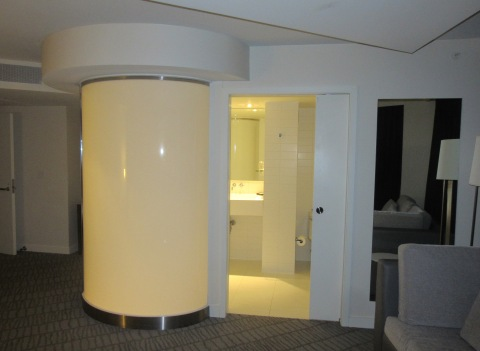Yes, ladies and gentlemen, that is the shower pod
