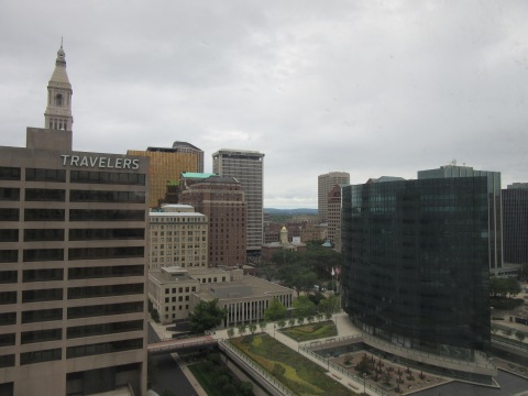View from the 19th Floor (Hartford, CT)