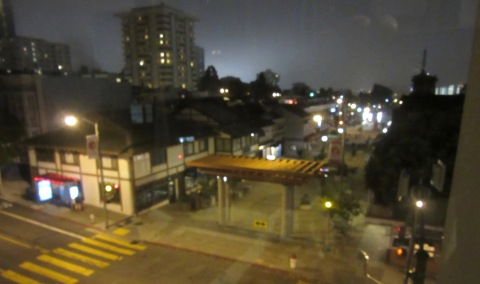 Japantown at night