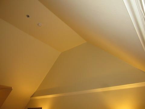 Excellent ceiling