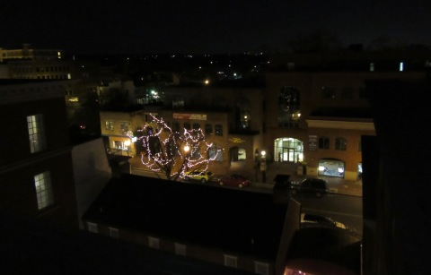 View from balcony of 619