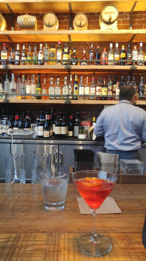 Lets start things off with a Negroni