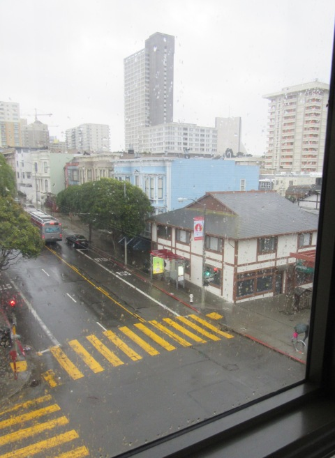 Rainy day Japantown